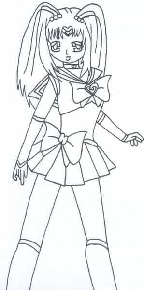 Meine Selena im Sailor Outfit ;)