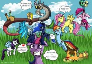 Chaos in Ponyville