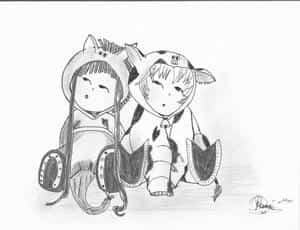 Rin und Haru Soma