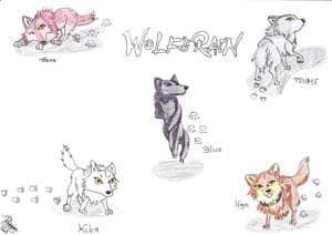 spilende Wölfe