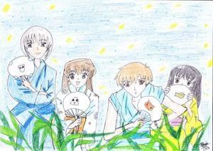 Eine Nacht auf der Blumenwiese