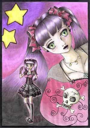 Messiah ist Gothic und liebt dennoch Pink [2008]