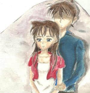 Shinichi und Ran