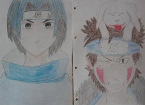 Sasuke und Kiba <3