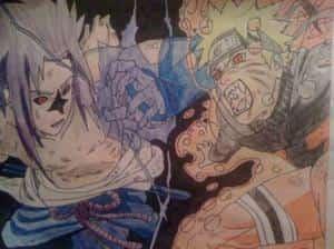 Naruto und Sasuke