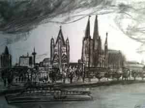 Köln im Sturm