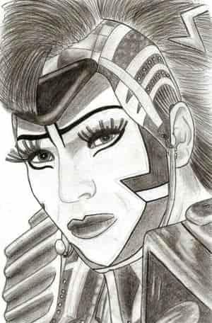 Electra Portrait