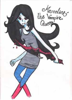 Marceline- The Vampire Queen