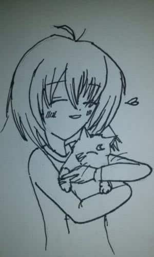 Me and Sesshomaru-cat