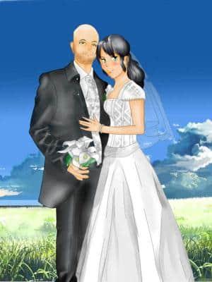 Hochzeit eines Freundes