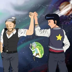 Spacee, Dandy and Rick?! Why not? ;)
