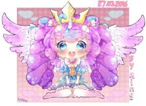 Baby Flurry Heart (MLP) Chibi / Human version