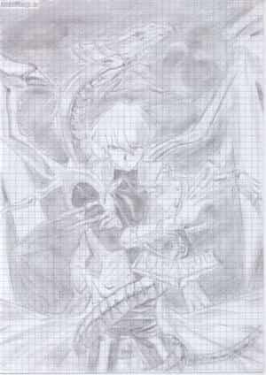 Seto & Blue - Eyes White Dragon