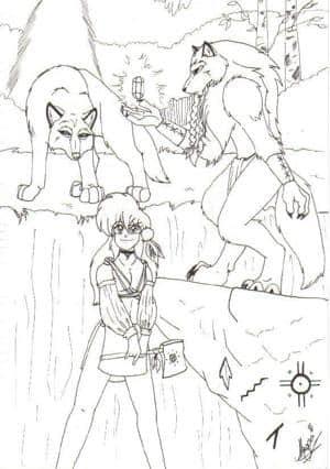 Wölfe, Wald und Maggi-Chan