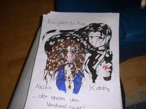 Kiddy und Keiko