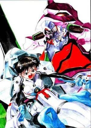 Shinji & EVA-01