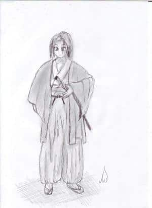 Samurai  Mädchen