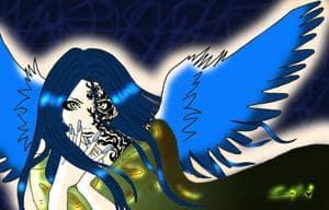 BLUE ANGEL--of darkness!!!! .//.