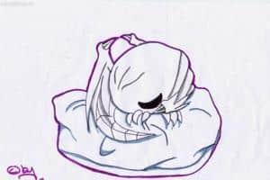 Sleeping Blue eyes ^.~