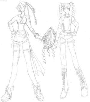 skizze chara design die 2te