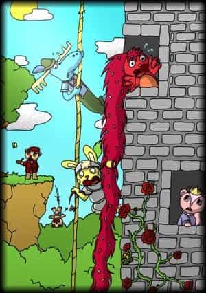 Rapunzel - Happy Tree Friends Version