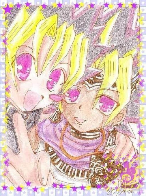 Atemu with Yugi or Yugi with Atemu * Pri-Cla *