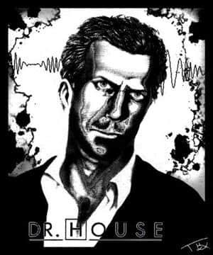Hugh Laurie (ist Dr. House)