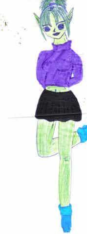 Shalina, Piccolos zukünftige Freundin