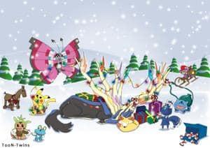 Weihnachten mit Pokemon