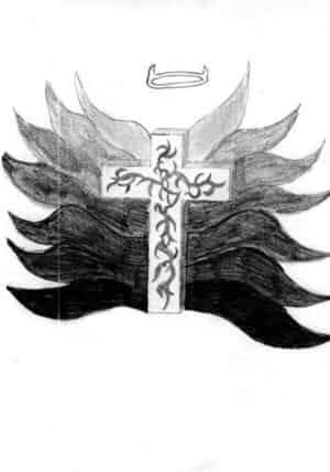 Tribalkreuz