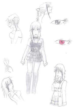 Charakterdesign: Lilith Devlin