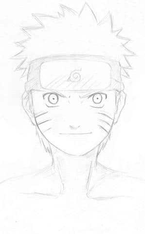 Portrait: Naruto's Face