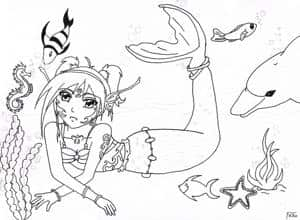 Meerjungfrauen ~ Lebewesen in der Tiefe der Meere